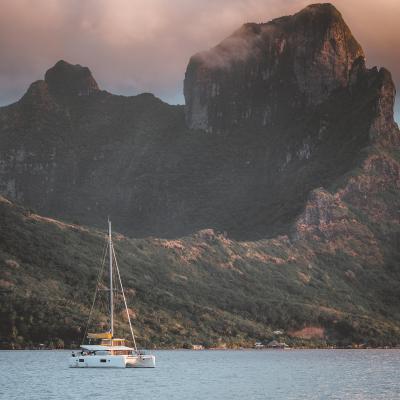 Anchorage at Bora Bora - just magic