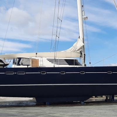 Catamaran Azizam