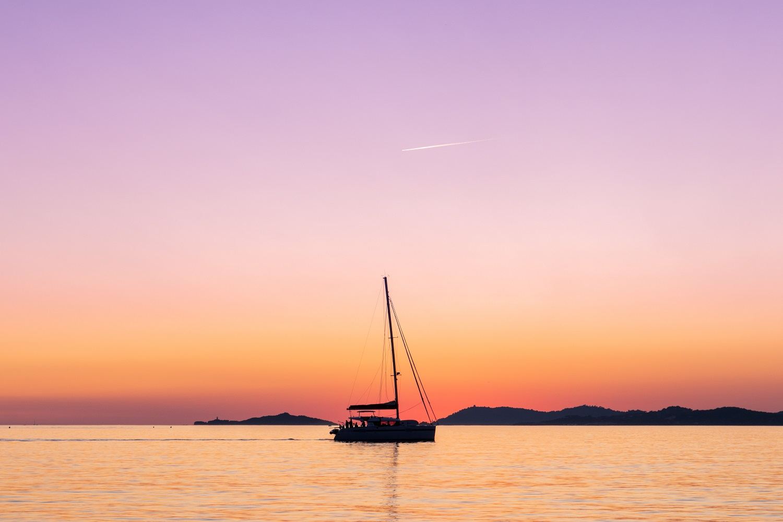 Baie de l'ile de Porquerolles, France