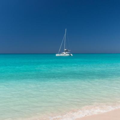 Gorgeous turquoise sea water