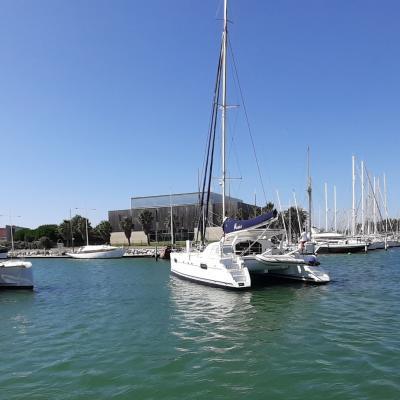Port of Canet en Roussillon