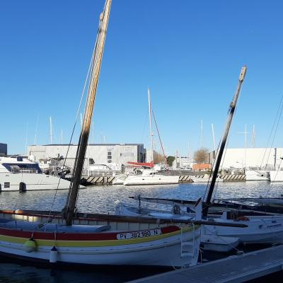 Barques catalanes et catamarans
