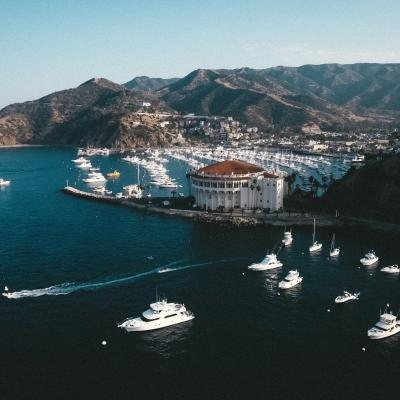 Anchorage in Catalina Island