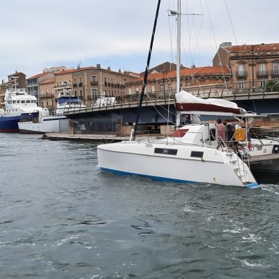 Catana 39 in Sète
