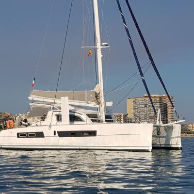 Catana 42 anchor in Palamos