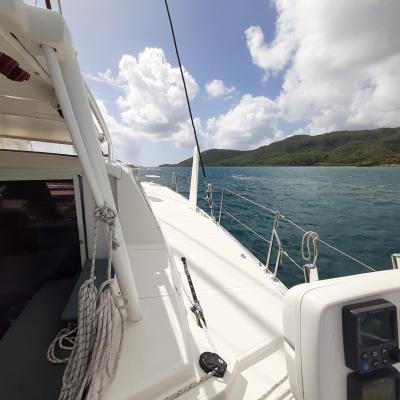 Essai en mer Catana 47