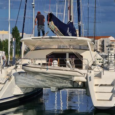 Preparation & CLeaning Catana 47 Mexico