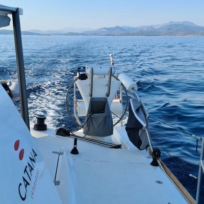 Catana 50 in Sardinia