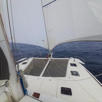 Catana 50 under sails