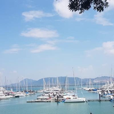 Marina in Thailand
