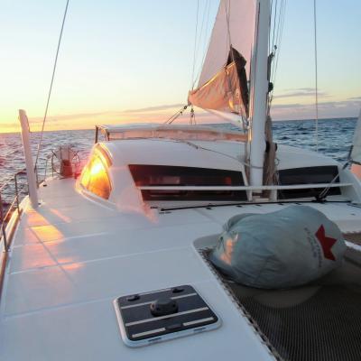 Catana 55 under sails