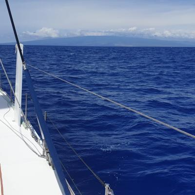 Catana 65 on route to Hawaii