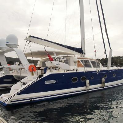 Catana 65 in Porquerolles