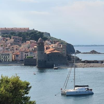 Anchorage in Collioure