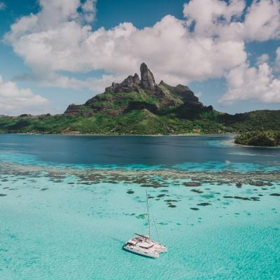 Sailing in French Polynesia