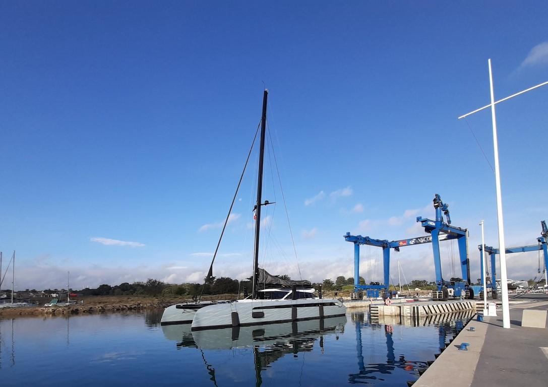 Mise à terre Gunboat 68