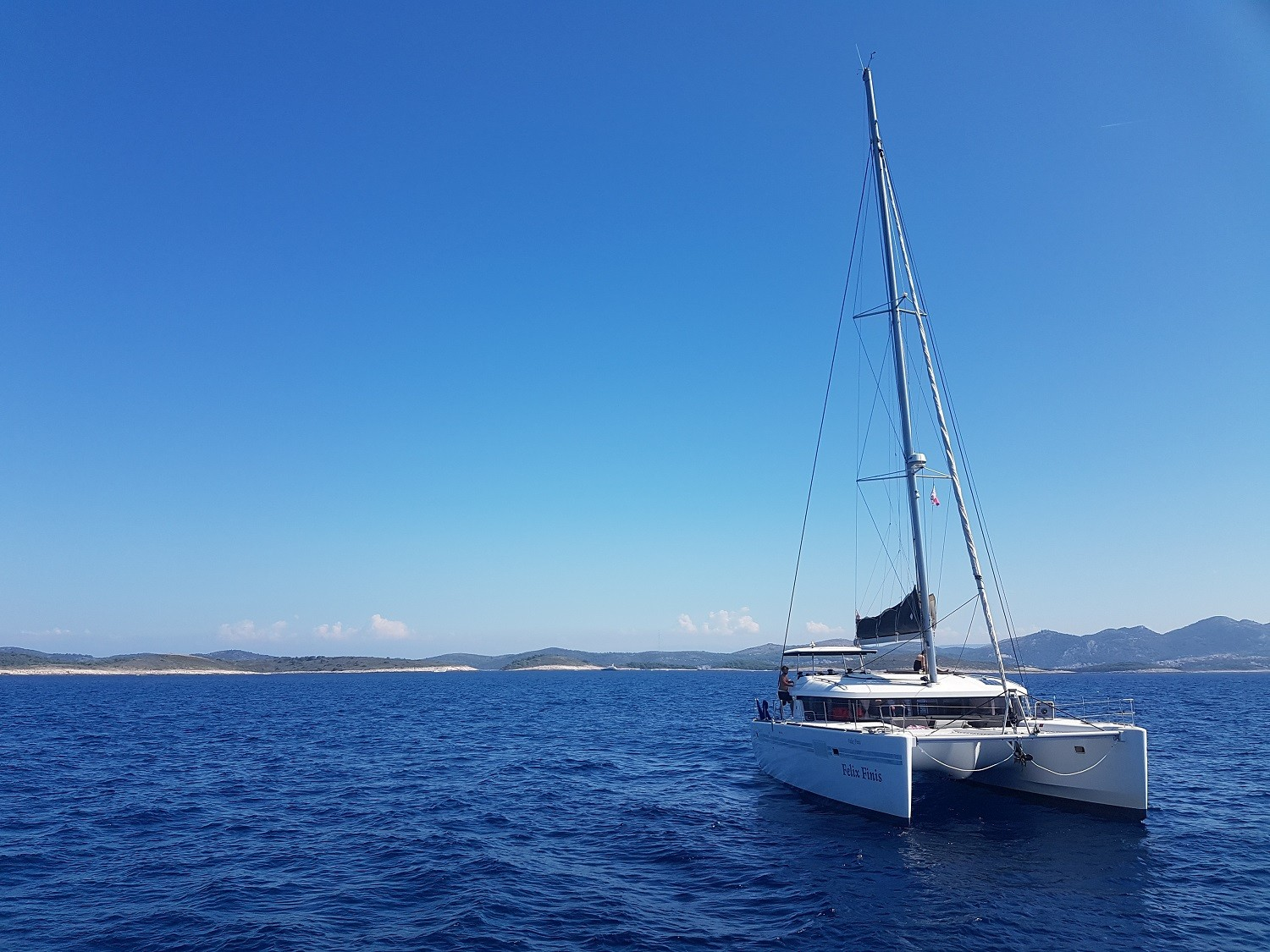 Lagoon 450 in croatia