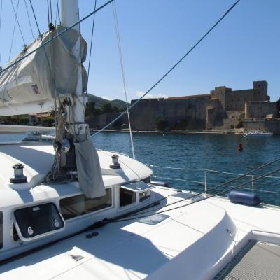 Lagoon 470 in Collioure