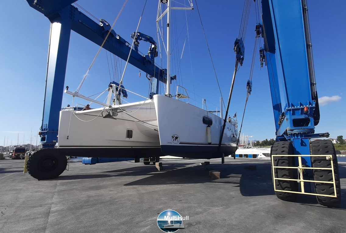 Launching Catana 471 Indigo