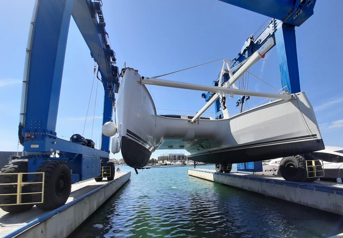 Launching Catana 62 Django