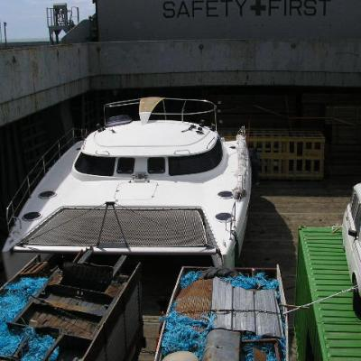 Lavezzi 40 in cargo ship