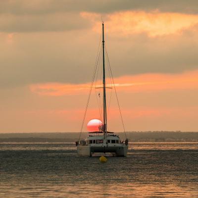 Magnifique coucher de soleil à Majorque