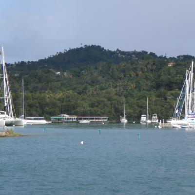 Welcome in Marigot Bay