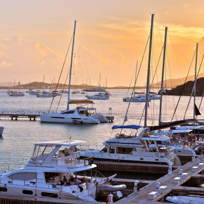 Marina in Virgin Islands
