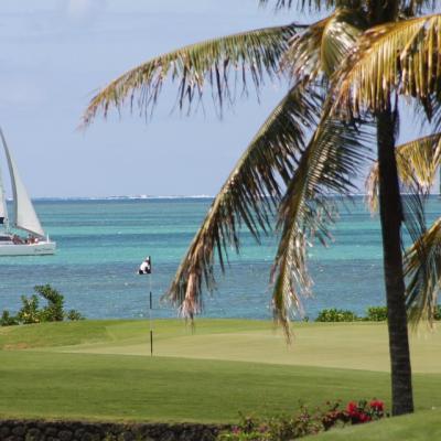 Golf à l'ile Maurice