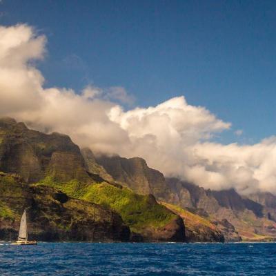 Na Pali coast State Park, Kapaa - Hawaï