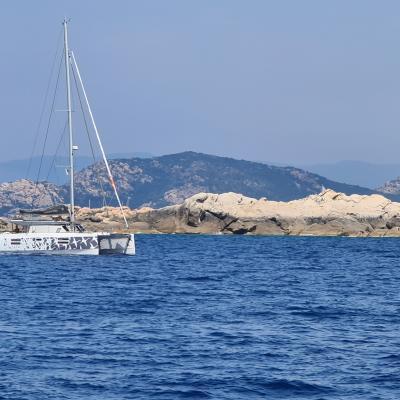 Nautitech 40 Open en Corse