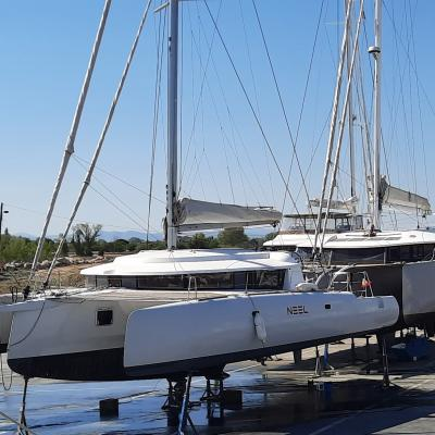 Neel 45 out of water in Canet en Roussillon