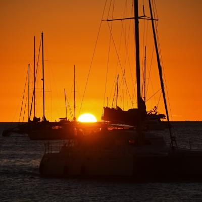 Sunset in Noumea