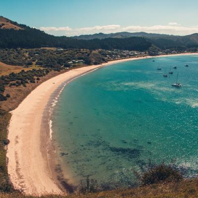 Baie de Opito - Nouvelle Zélande