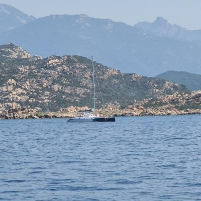 Outremer 45 in Corsica