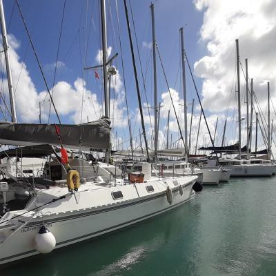 Outremer 45 in Martinique