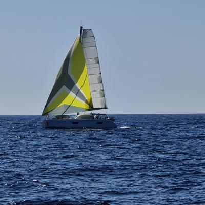 Outremer 45 sous gennaker