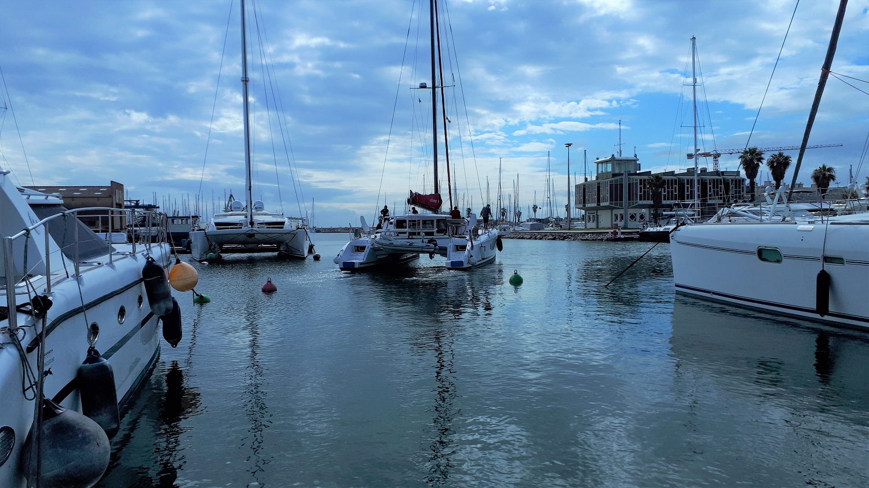 Outremer 51 go sailing