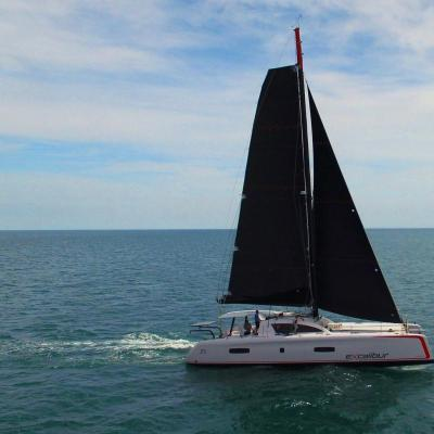 First sea-trials Outremer 5X