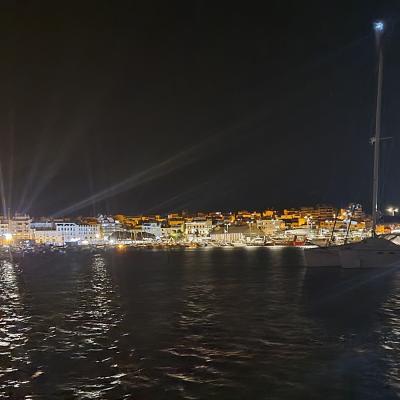 Palamos by night