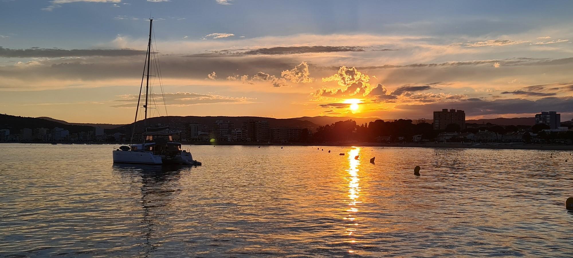 Palamos sunset