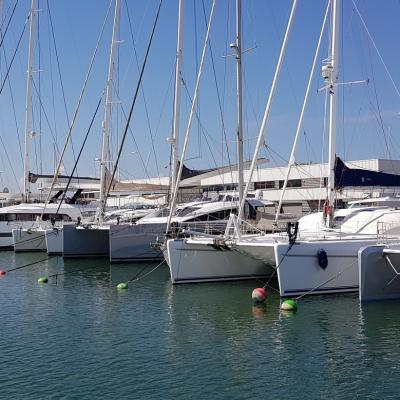 Canet en Roussillon harbour