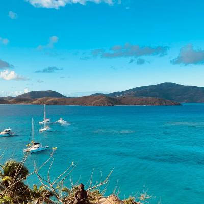 Mouillage aux British Virgin Islands