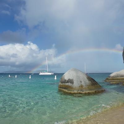 Arc-en-ciel aux Caraïbes