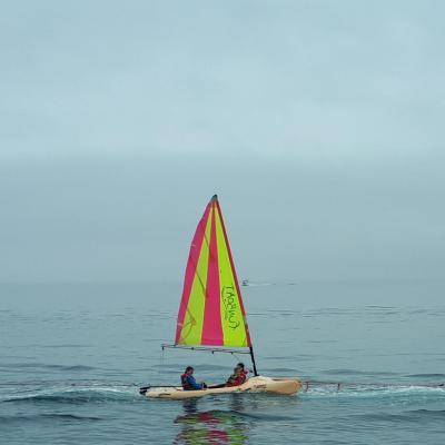 School Sailing - Catamaran Laser Funboat