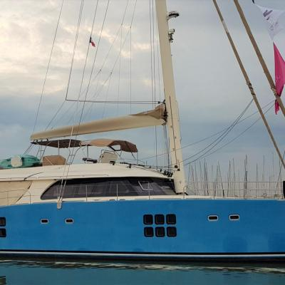 Sunreef 70 Sailing
