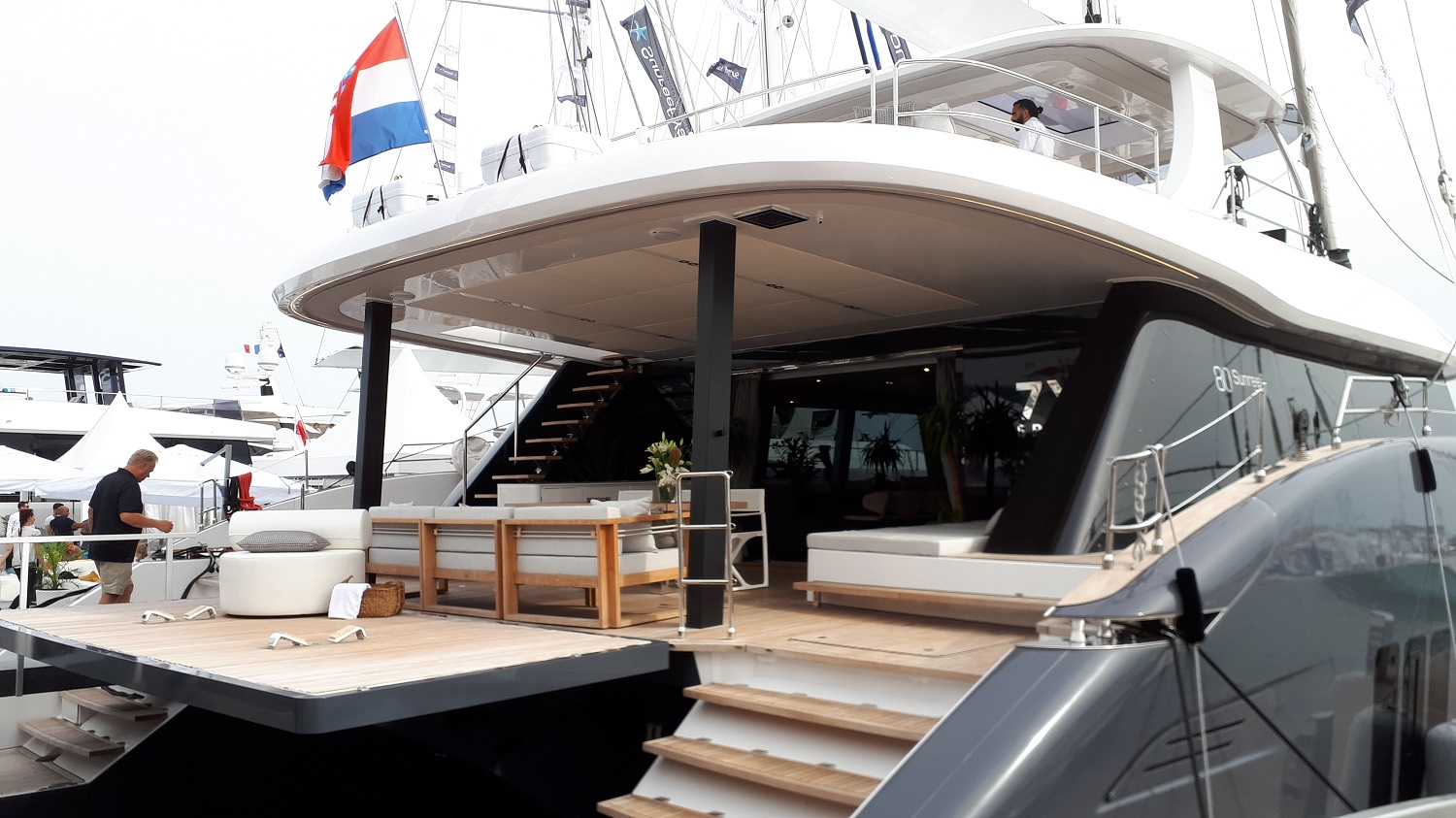 Cannes Yachting Festival - Sunreef 80