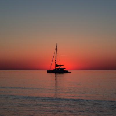 Magnifique coucher de soleil