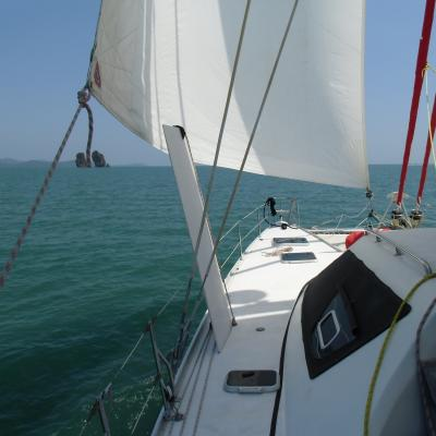 Switch 51 sailing in Thailand
