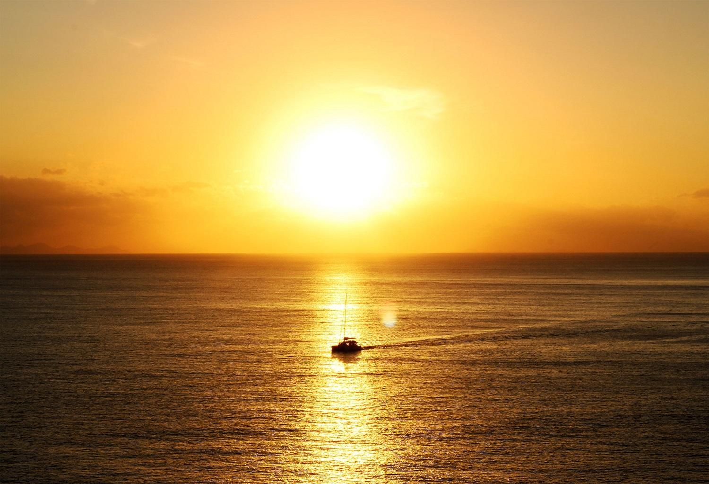 Magnifique lever du soleil